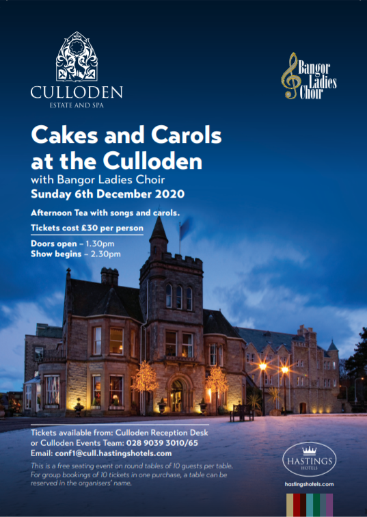 Cakes and Carols 2020 Interest