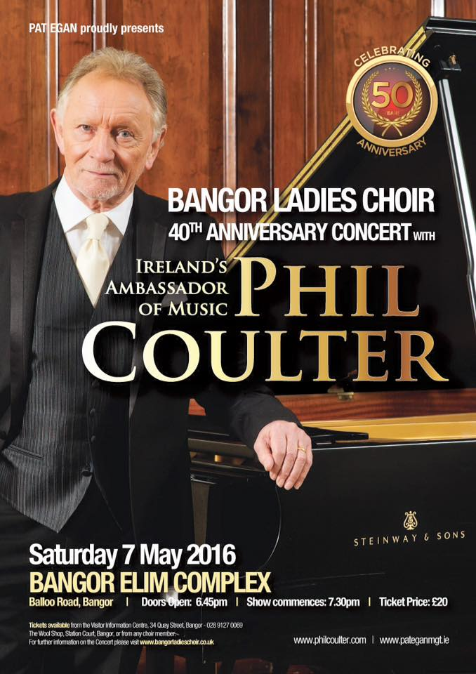 Phil Coulter Celebrating 50 years